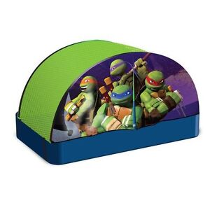 Ninja turtles bed tent