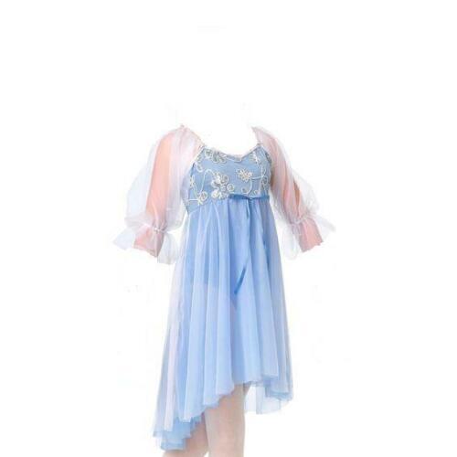 Adult 2XL Dance Lyrical Dress Nutcracker Nightgown Costume Christmas Ballet