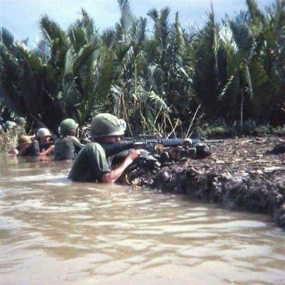 Vietnam War USMC Marines In Firefight Mekong Delta 67 High Gloss 8.5x11 Photo