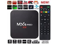 2017 MXQ PRO 4K Quad Core. Android 6.0 Smart TV Box .New KODI 17.1