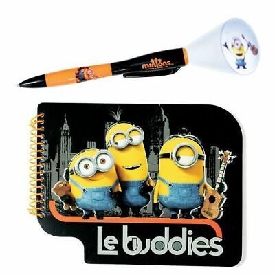 Minion Stationary Set with Projection Pen and Artist Sketch Doodle Book