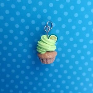 Lime Cupcake Necklace
