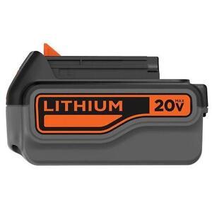 Black & Decker Pile au lithium, 20 V Max 4,0 Ah  neuveeeeeeee