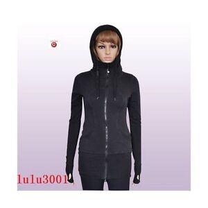 LULULEMON BLACK live simply hoodie SIZE 4