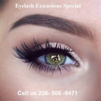 Eyelash Extensions Special
