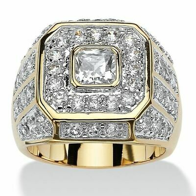 - Gorgeous Women Jewelry 18K Yellow Gold Plated White Sapphire Ring Wedding Sz6-10