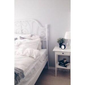 LEIRVIK IKEA bed frame (Full)