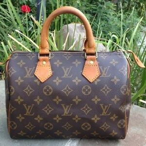 Authentic Louis Vuitton Speedy Monogram 25 Bag Hampton Bayside Area Preview