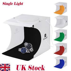 Portable Camera Photo Studio Lighting Box Photography 6 Backdrops LED Ligh Tent