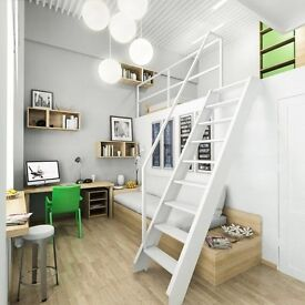 Studios Office Work Space Art Storage Photograph Warehouse - Starlane/ Brombley by bow