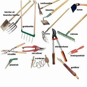 Cherche outils à jardin pour jardin collectif