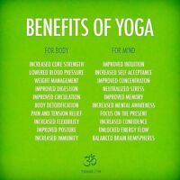 Hatha Yoga Classes with Betty P