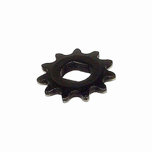 11-Tooth Sprocket (Dual D-bore, use #25 Chain) For Electric Scooter Motors