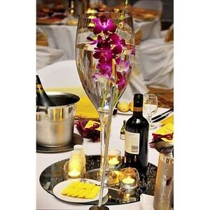 centerpiece Champagne Vases Wedding Baby New Years