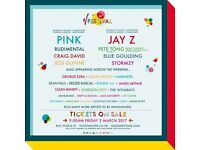 V festival weekend ticket x1