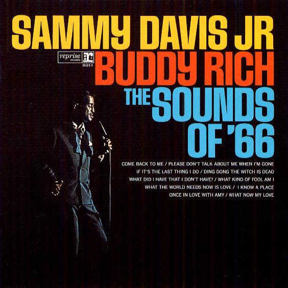 SEALED DCC Audiophile CD #625 SAMMY DAVIS, JR.& BUDDY RICH! The Sounds of '66