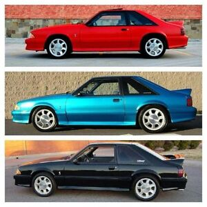 Looking for a 1993 and 1994-1995 Mustang SVT Co