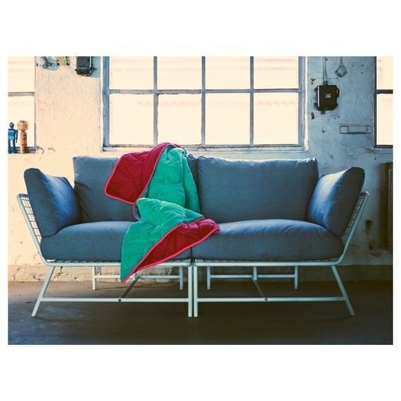 Ikea 2 Seat Grey Sofa Ps 2017 Collection
