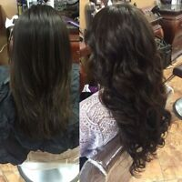 Microlink (Itip) and tape in hair extensions