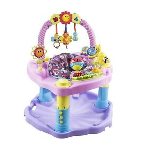 Fisher Price Bright beats smart touch  Even Flo pink Exersaucer Kitchener / Waterloo Kitchener Area image 2