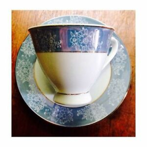 Swatow China Lusterware Cup and Saucer