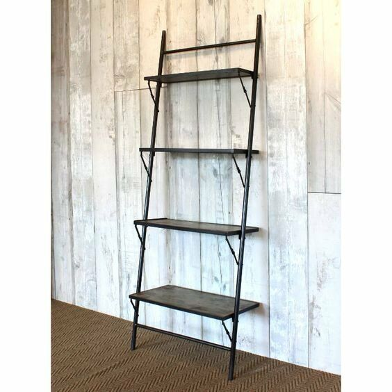 Lean-to Folding Shelves/Boockase - Ex show flat