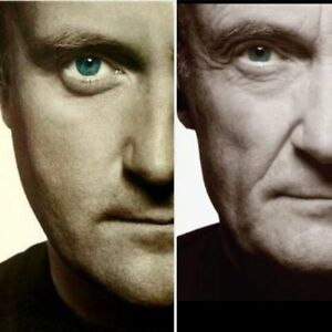 PHIL COLLINS BEST RED=102=& FLOOR ROUGE& PARTERE.11.IEME. RANGEE