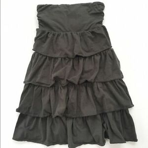 J CREW FACTORY STRAPLESS DRESS, SIZE LARGE