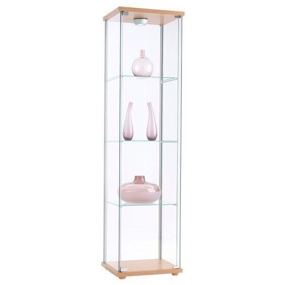 Detolf Glass Door Cabinet 6 Items In Grangetown Cardiff Gumtree