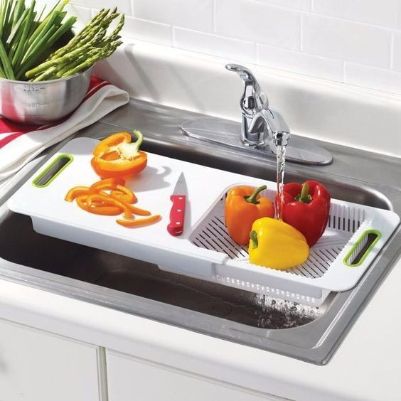 Kitchen Magik Over The Sink Chopping Board