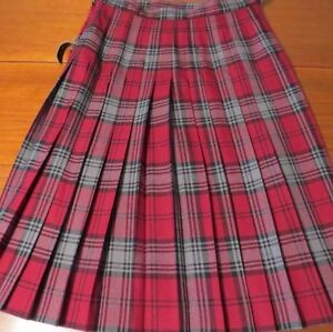 Ladies Kilt Skirt D. McArthur of Scotland