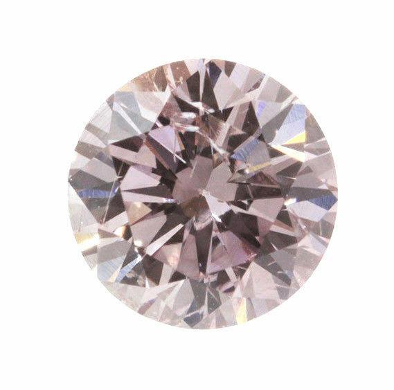 0.27 Carat Fancy Intense Purplish Pink Loose Diamond Natural Color Certified