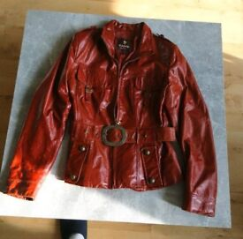 Woman's real leather jacket.