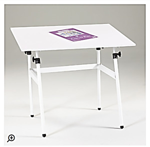 (1) Foldable, Adjustable Drafting Table