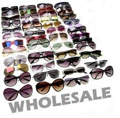 Sunglasses Glasses Wholesale buy 6 to 10000 Pair Assorted Styles Men women kid (Bargain Sunglasses)
