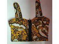 Topshop Tiger Bralet Womens Size 10