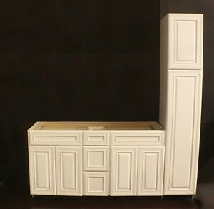 Kraftmaid bathroom cabinets vanities ebay for Bathroom cabinets kraftmaid