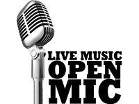 8th september Hazelnut open mic: last 2 slots available