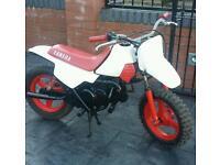 yamaha pw 50 kids motorcross motorbike crosser peewee lt pit bike mini moto quad cr yz kx ktm rm
