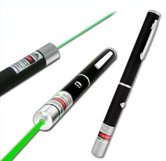 10mW High Power Beam Green Laser Pointer Pen 532nm Show Lazer Projector DJ Stage