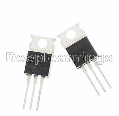 5pcs Irf840n Irf840 N-channel 8a 500v Mosfet To-220 Ir Transistor Best