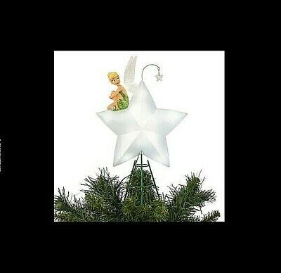 DISNEY Light Up Tree Topper TINKERBELL ** NEW Beautifully Detailed Christmas
