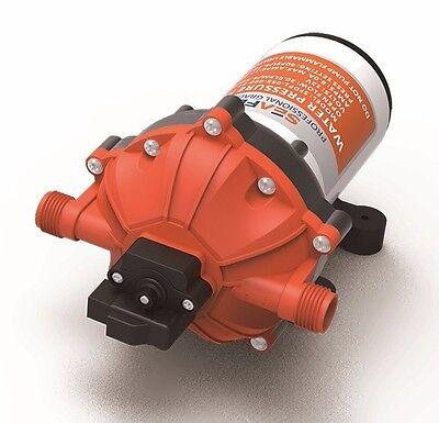 SeaFlo Marine Water Pressure Pump 12 V DC 60 PSI 5.0 GPM Boat *4 Year Warranty!*