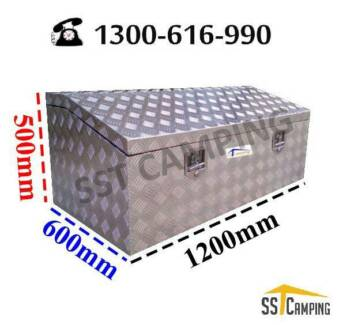 L1200*W600*H500 Heavy Duty Top Open Aluminium Toolbox