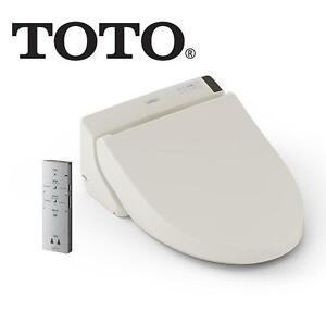 NEW* TOTO ELONGATED WASHLET C200 SEDONA BEIGE - BATHROOM TOILET WASHROOM FIXTURE BIDET 104993242