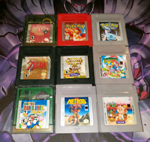☆☆Gameboy color  / Game Boy Advanced Games for sale