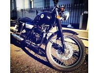 Cafe Racer style 125cc motorcycle