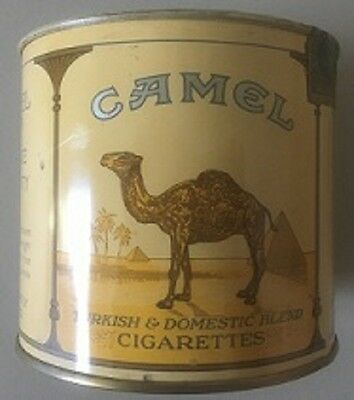 Camel 100S Cigarettes Shipping Tin    Ca 1940S