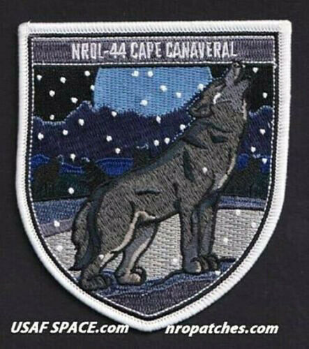 Authentic NROL-44 -DELTA IV HEAVY -USAF USSF- Classified SATELLITE Mission PATCH