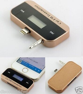 FM Transmitter Wireless Car MP3 RADIO LCD screen display For Apple iPhone 5/S/5C